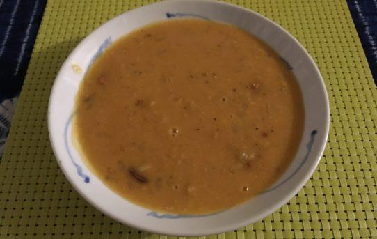 Split Pea with Chorizo Soup