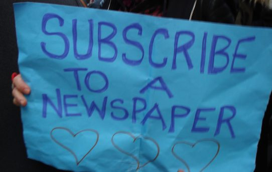 Read a newspaper!