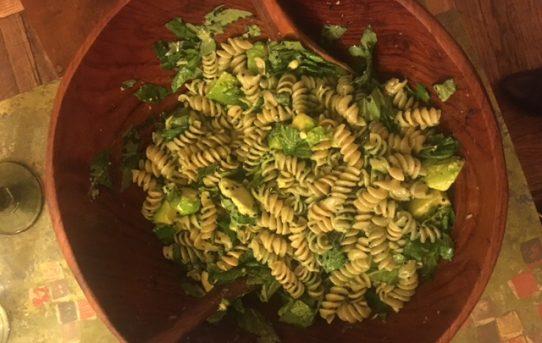 Green Florentine Pasta
