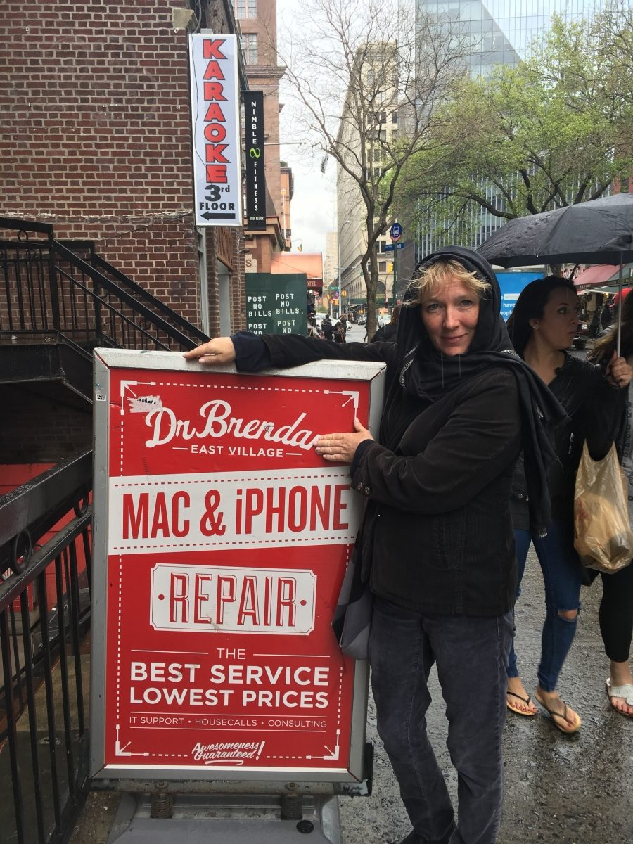 Dr. Brenda on St. Marks Place
