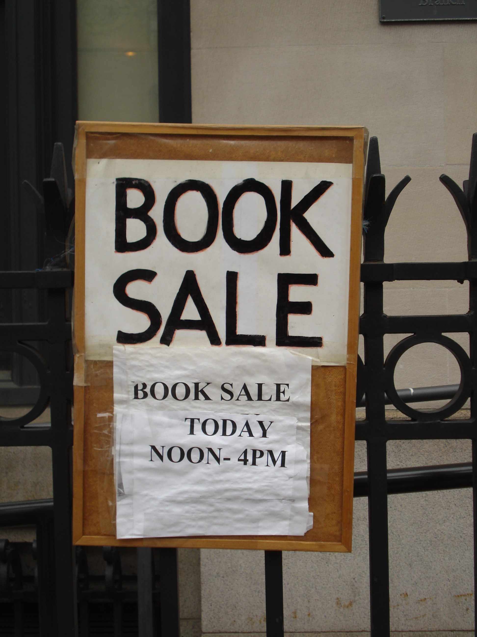 The St. Agnes Library Book Sale