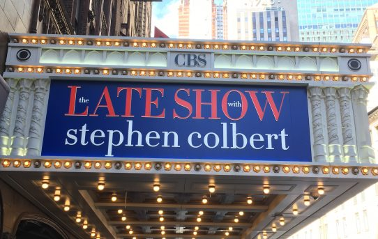 A gift from Stephen Colbert