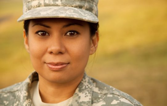 We salute women and men in uniform