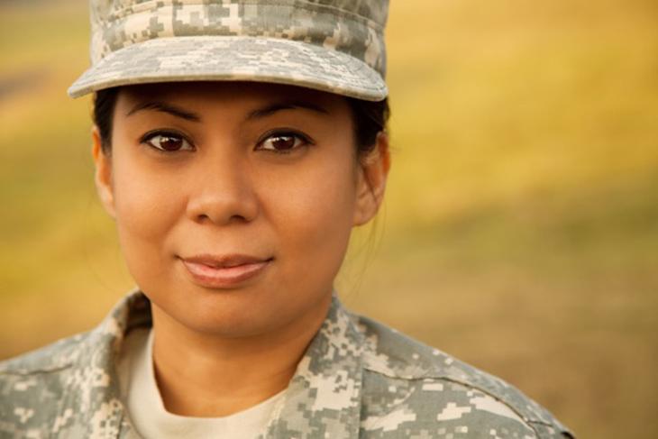 We salute women and men in uniform
