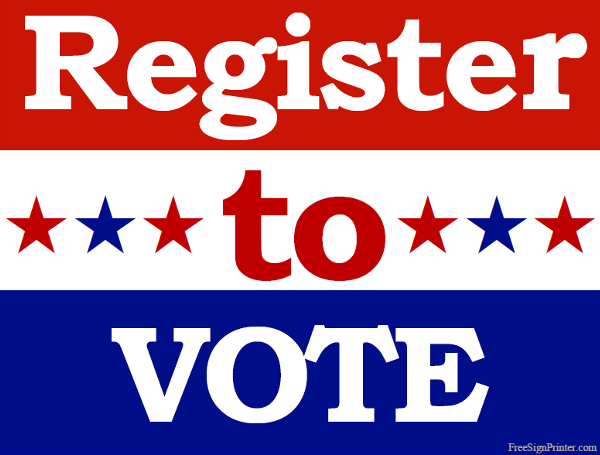 DIY voter registration
