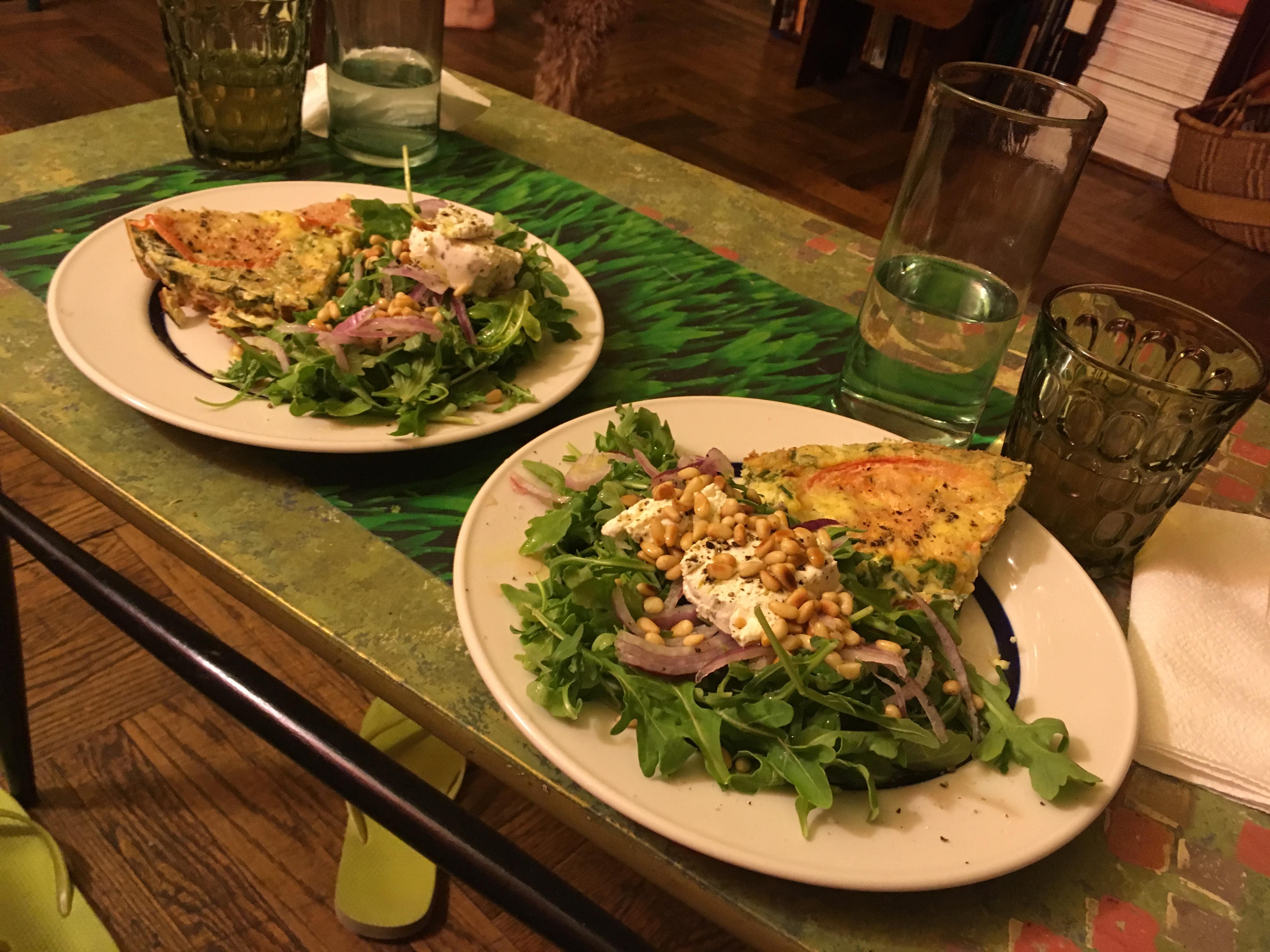 Fancy Arugula Side Salad