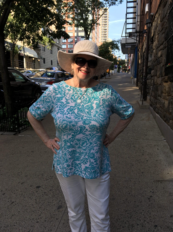 Reggie, Writer visiting the Upper West Side