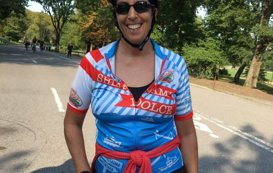 Deborah, Century (100 mile) Cyclist, all 5 boros, NYC