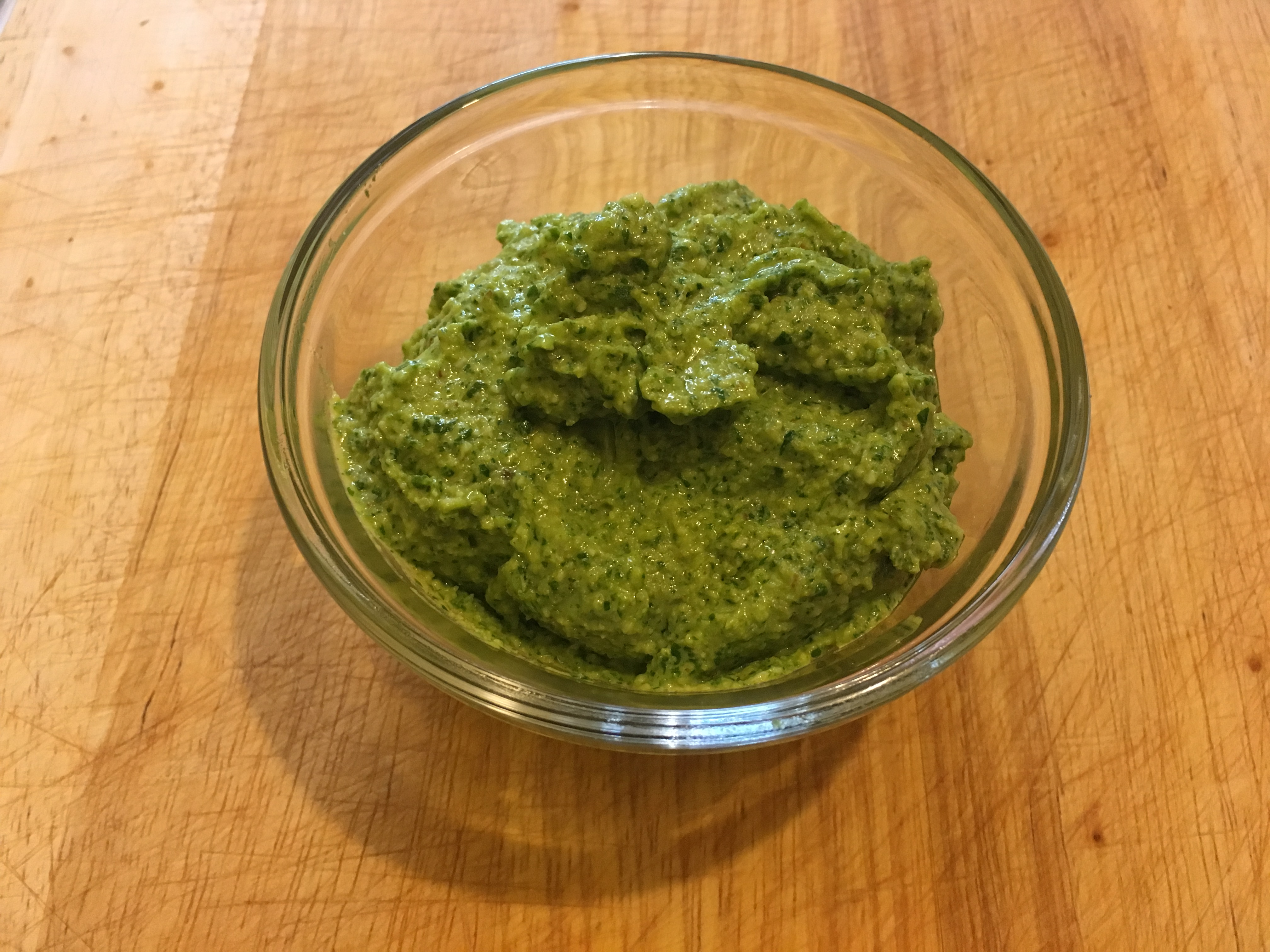 Too Much Arugula Rescue Pesto