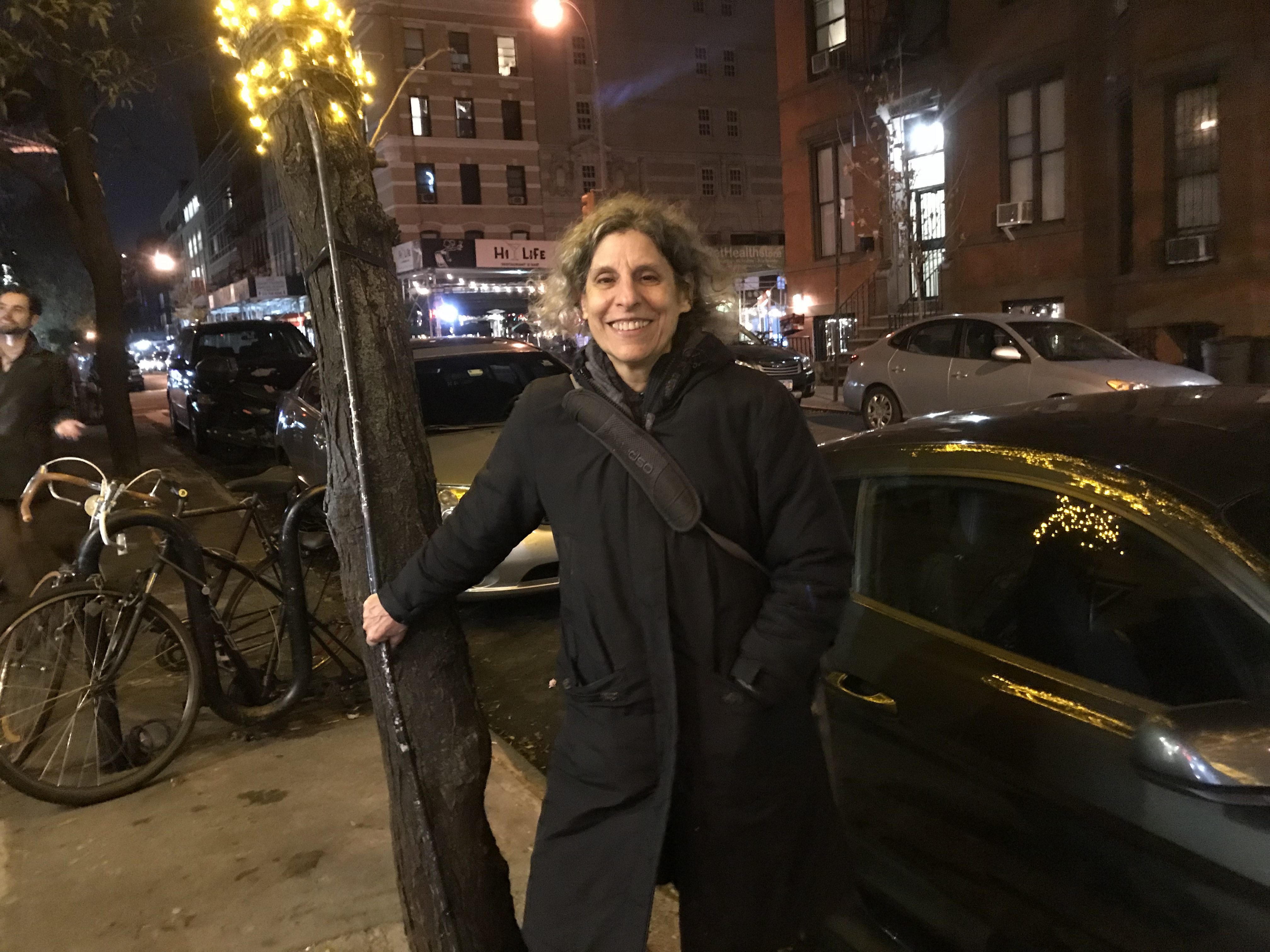 Sharon, Professor, Upper West Side