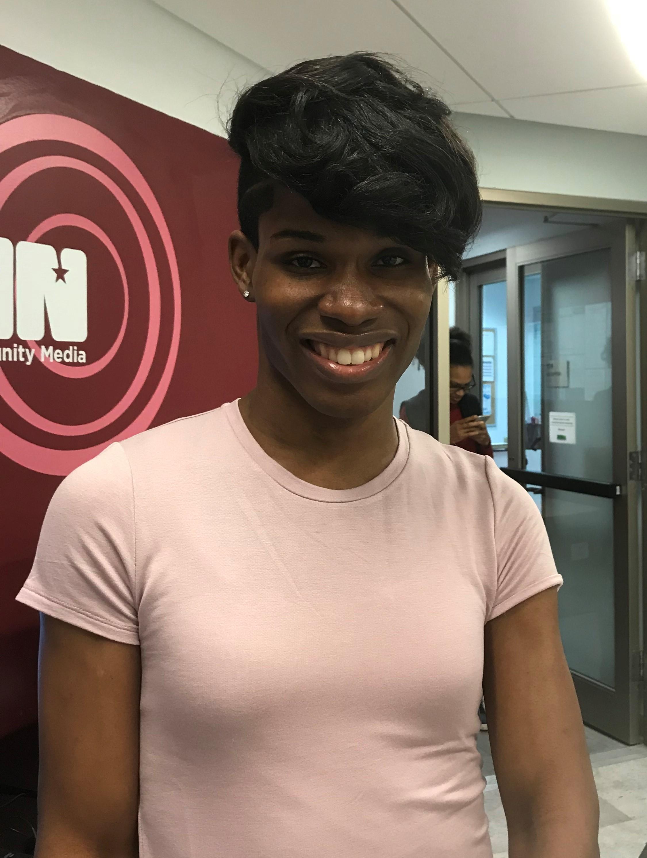 Elle, Transgender Activist, Midtown