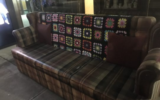 Roseanne's couch