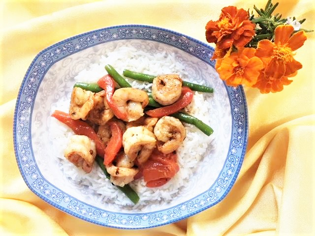 Shrimp With Leftovers