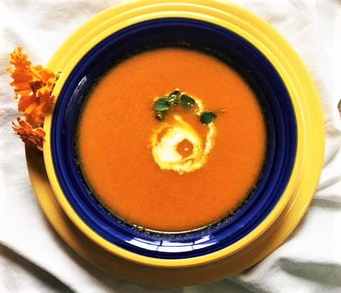 Alice Waters Carrot Soup