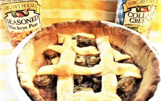 CLAM PIE—WITH OYSTERS