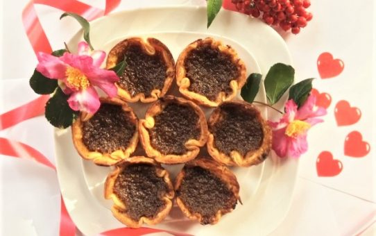 Canadian Butter Tarts on Valentine's Day