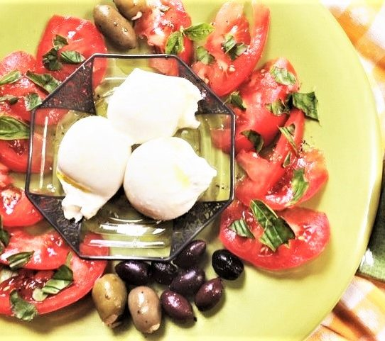 Burrata Cheese for Lunch