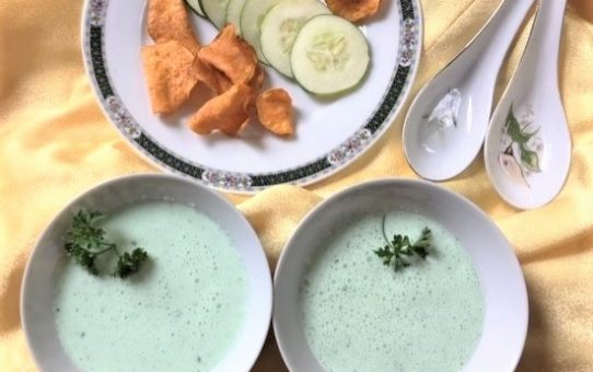 Cold Cucumber-Buttermilk Soup