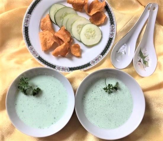 Cold Cucumber-Buttermilk Soup