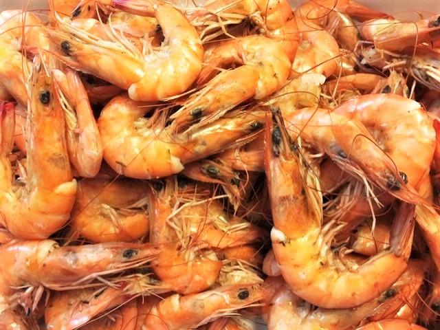 Crevettes a la Bière (Shrimp with Beer)
