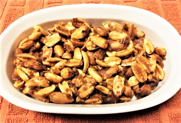 Spicy-Sweet Maple Toasted Nuts
