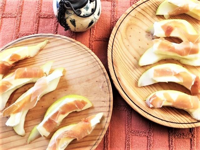 Pear, Prosciutto and Brie