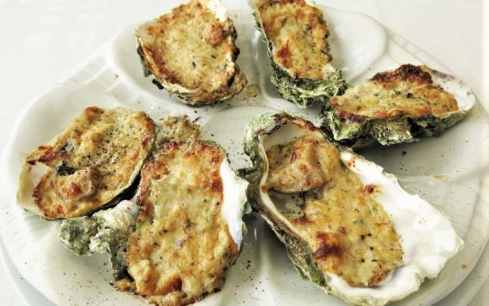 DEVILLED OYSTERS